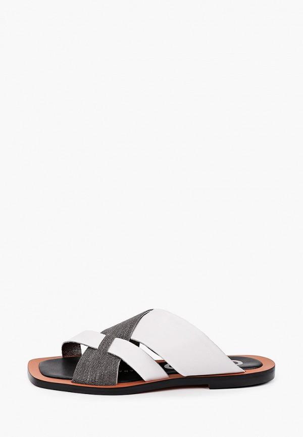 женское сабо graciana, белое