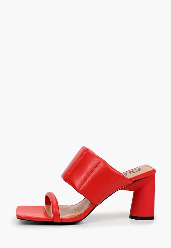 женское сабо graciana, красное