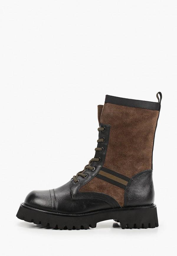 женские высокие ботинки graciana, коричневые