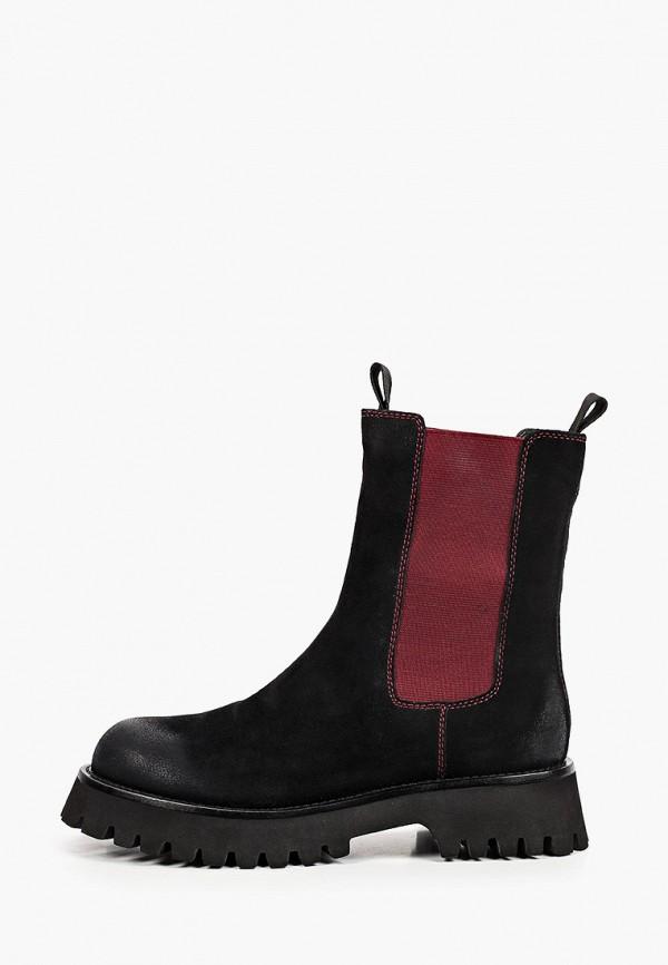 женские ботинки-челси graciana, черные