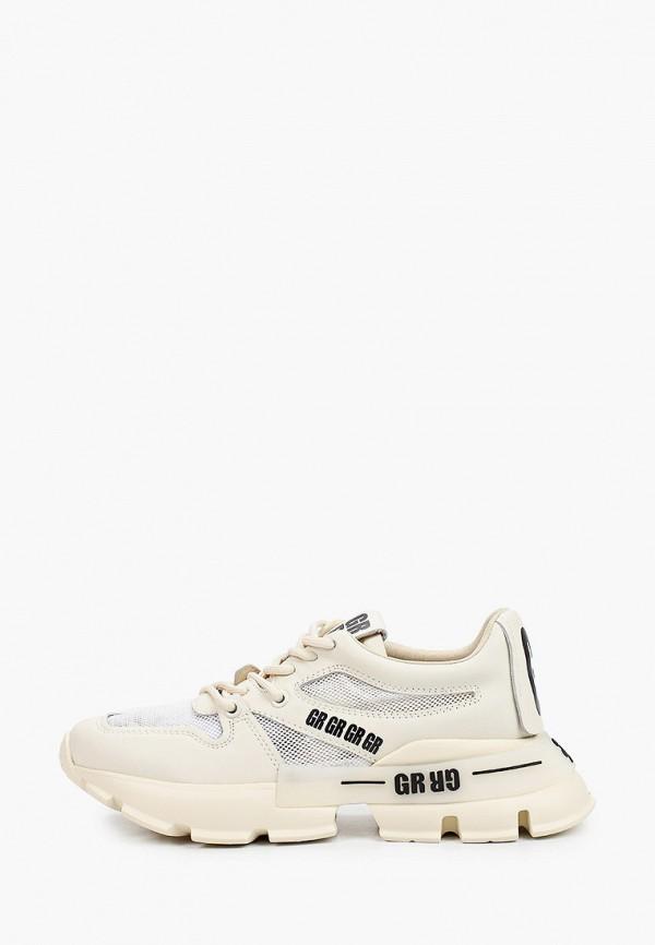 женские низкие кроссовки graciana, бежевые