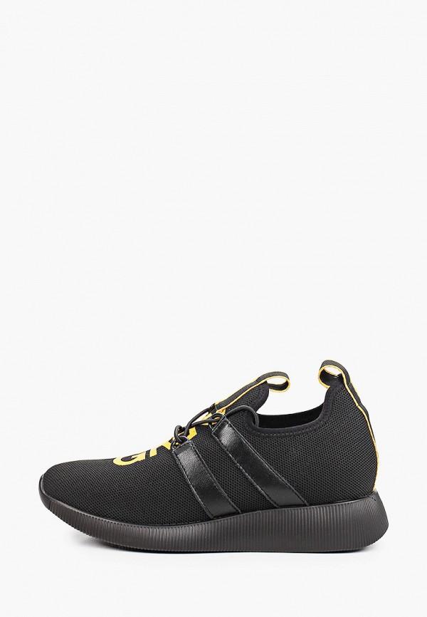 женские низкие кроссовки graciana, черные