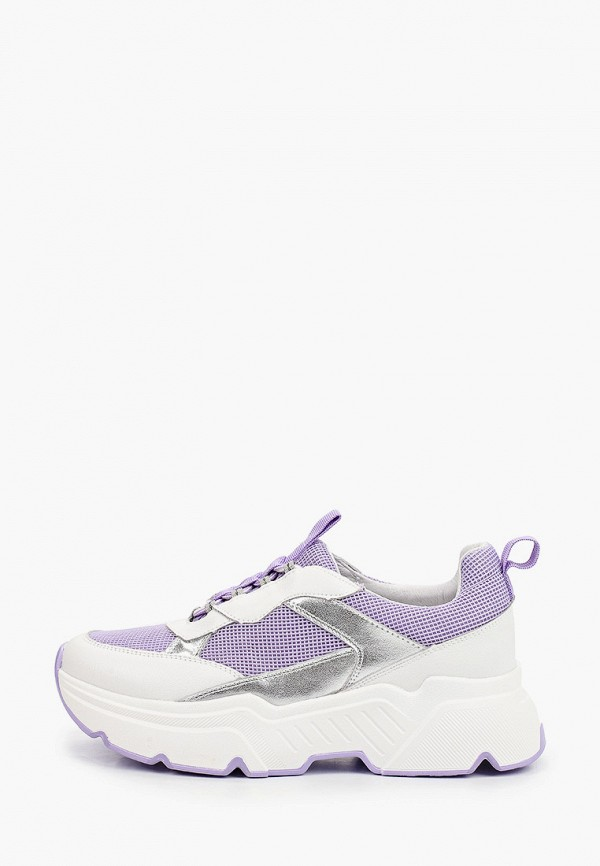 женские низкие кроссовки graciana, фиолетовые