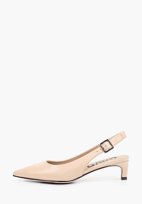 женские туфли graciana, бежевые