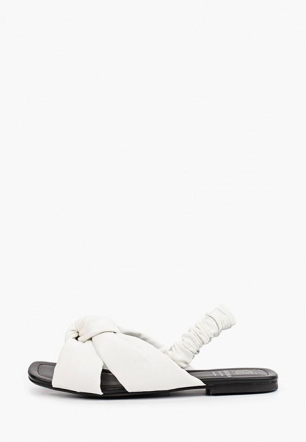 женские сандалии graciana, белые