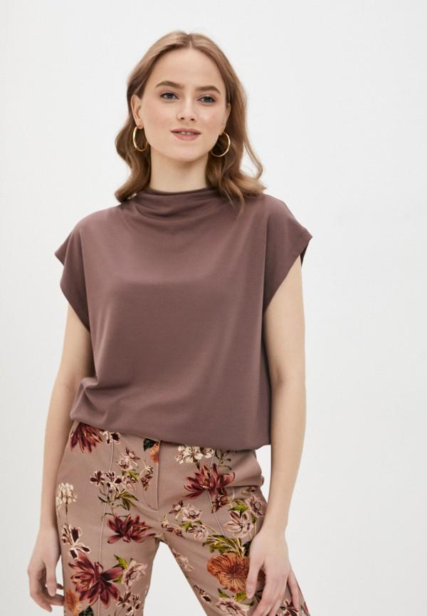 женская блузка с коротким рукавом ruxara, розовая