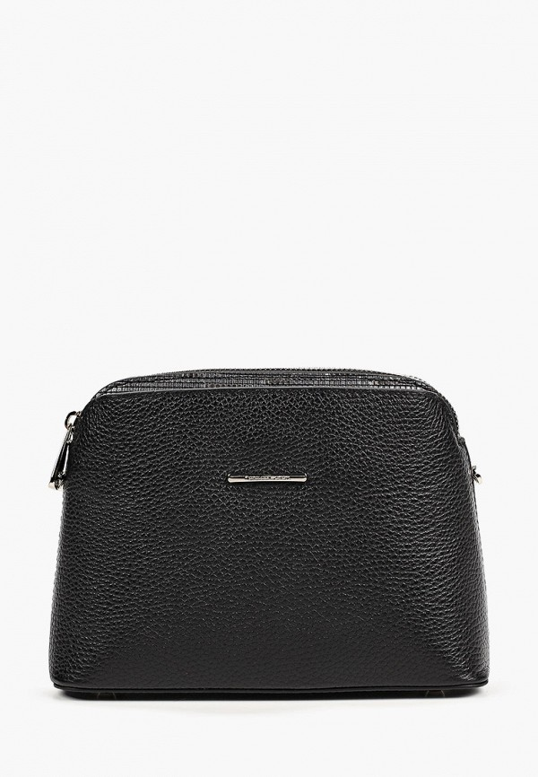 женская сумка через плечо fiato, черная