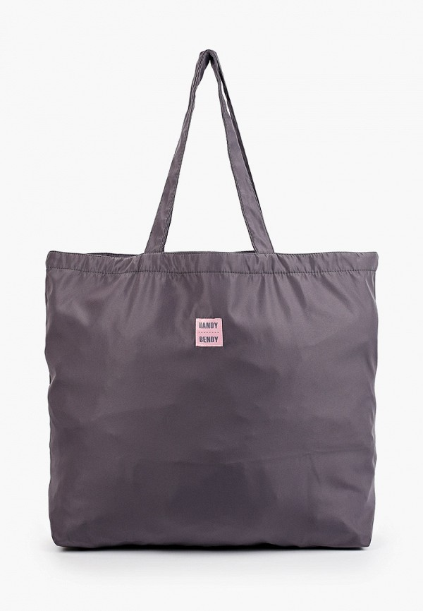 женская сумка-шоперы handy bendy, серая