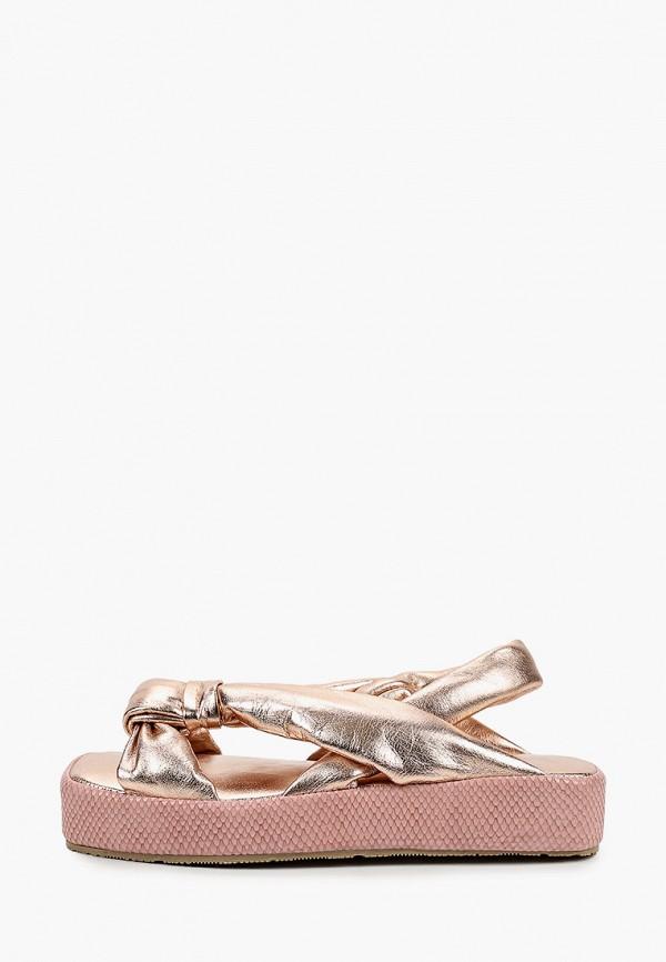женские сандалии emanuele gelmetti, розовые