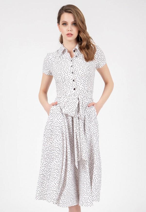 женское платье-рубашки grey cat, белое