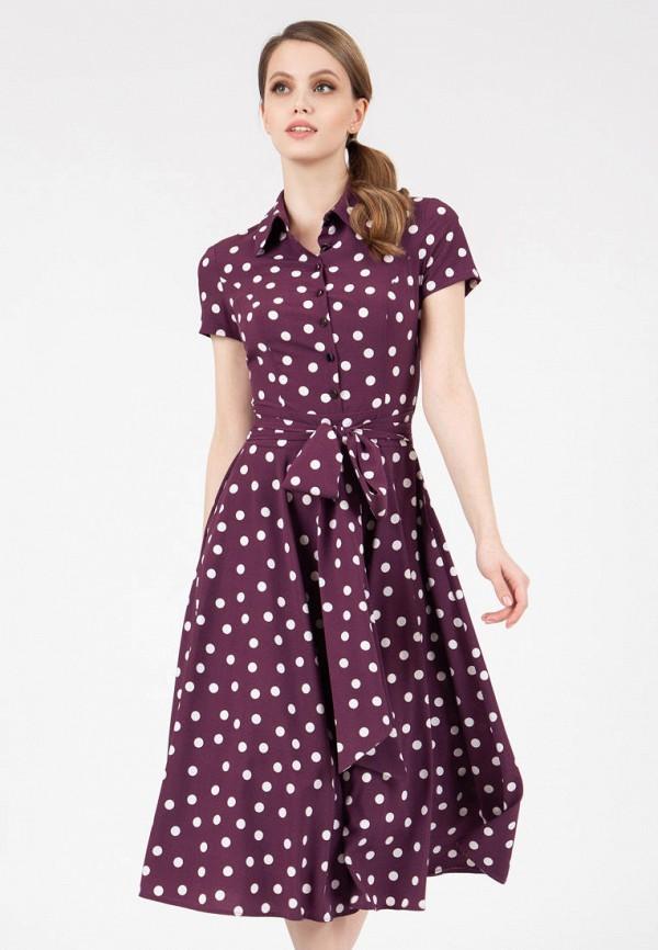 женское платье-рубашки grey cat, фиолетовое