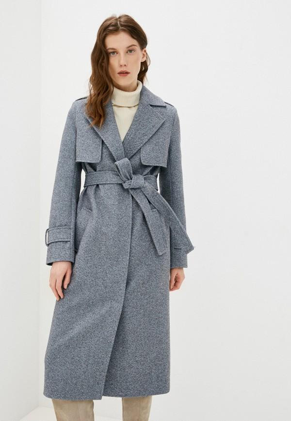 женское пальто ovelli, серое