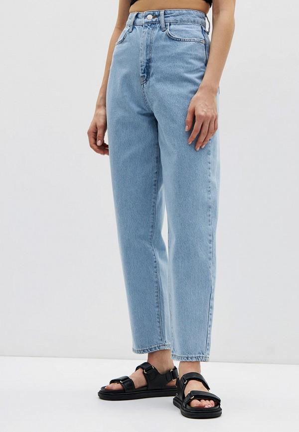 женские прямые джинсы lime, голубые