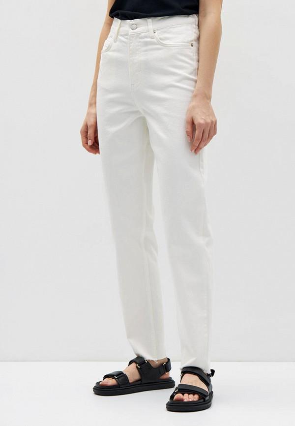 женские прямые джинсы lime, белые