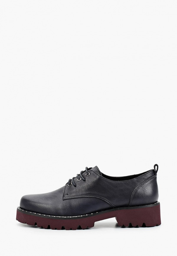 женские низкие ботинки francesco donni, синие
