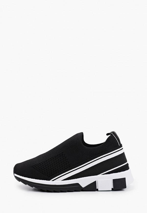 женские низкие кроссовки francesco donni, черные