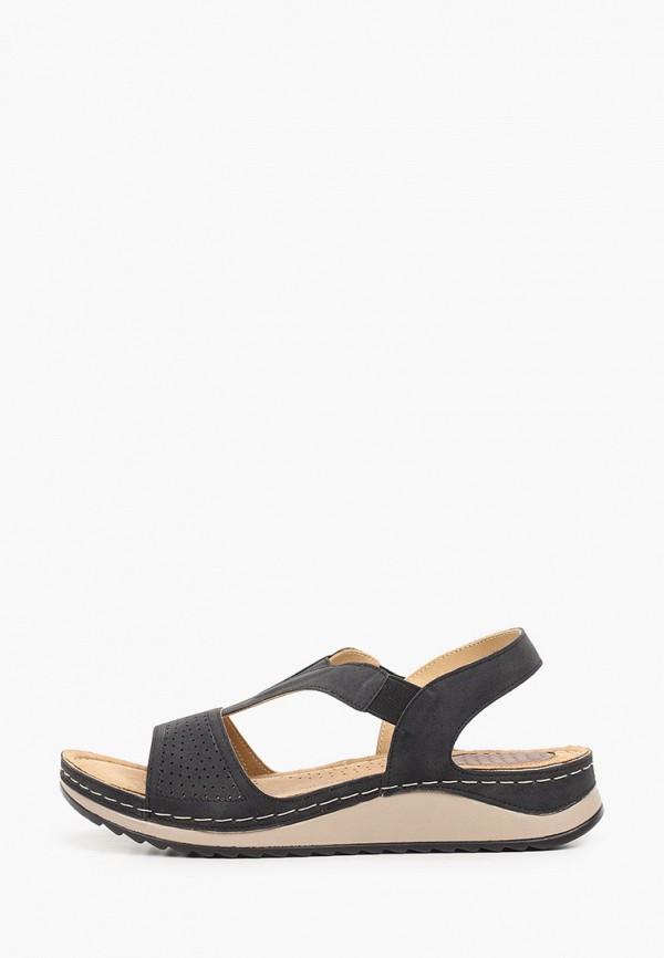 женские сандалии francesco donni, черные