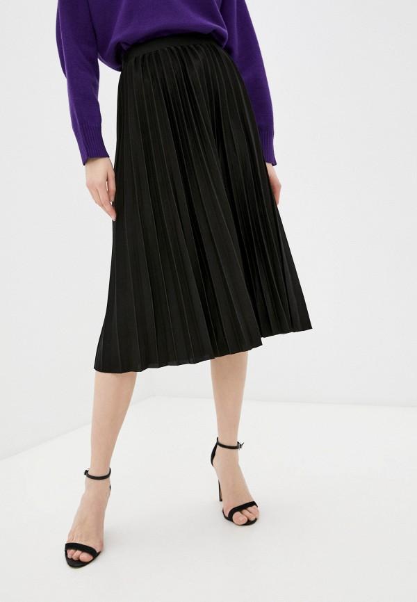 женская плиссированные юбка rodionov, черная