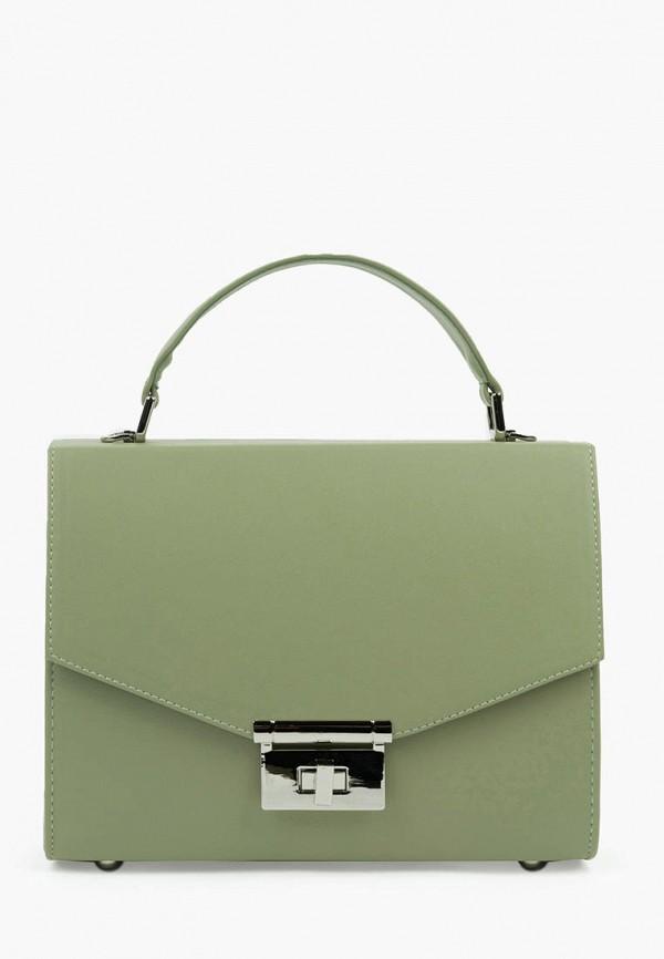 женская сумка через плечо arny praht, зеленая