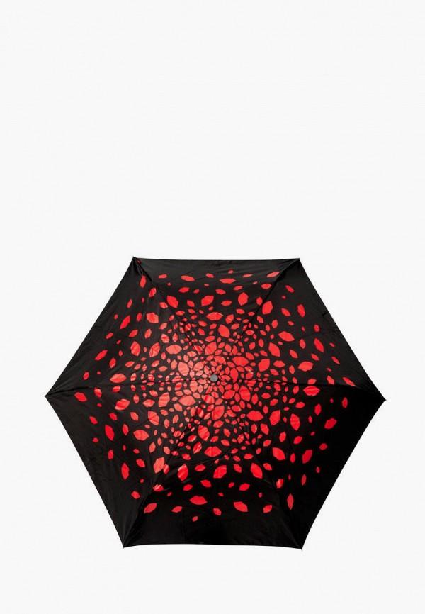 женский зонт fulton, черный