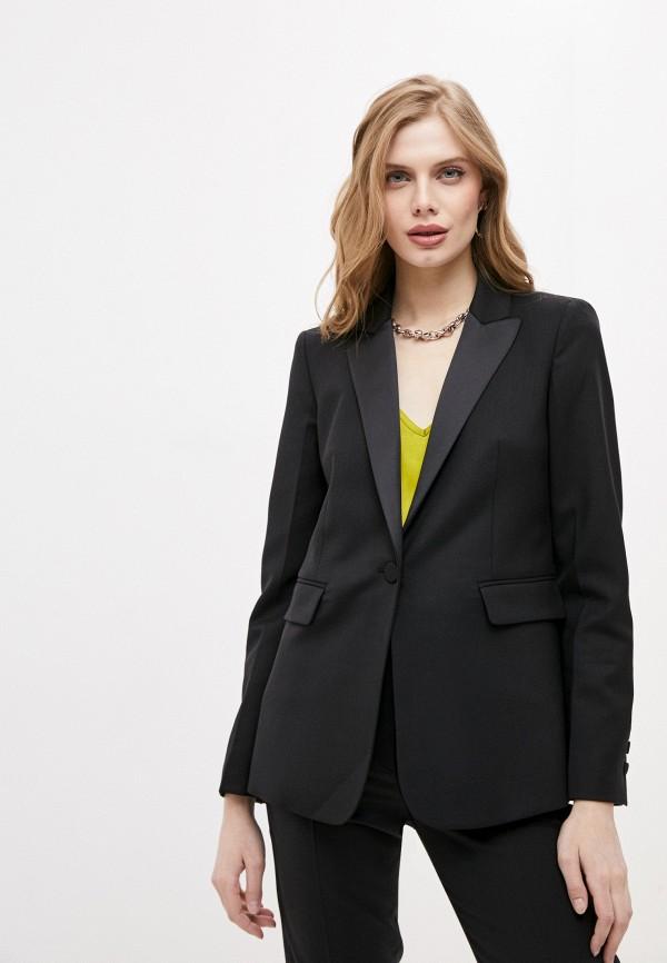 женский пиджак tara jarmon, черный