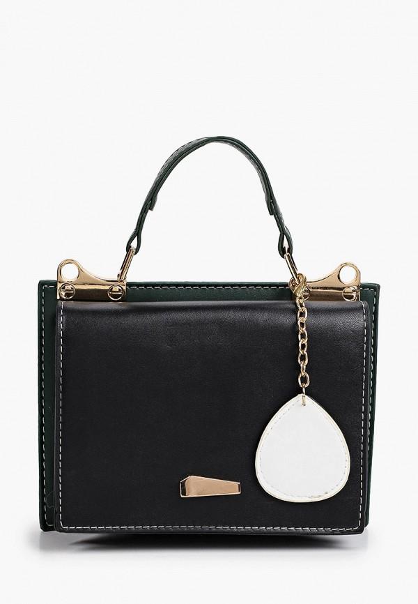 женская сумка с ручками dda, черная