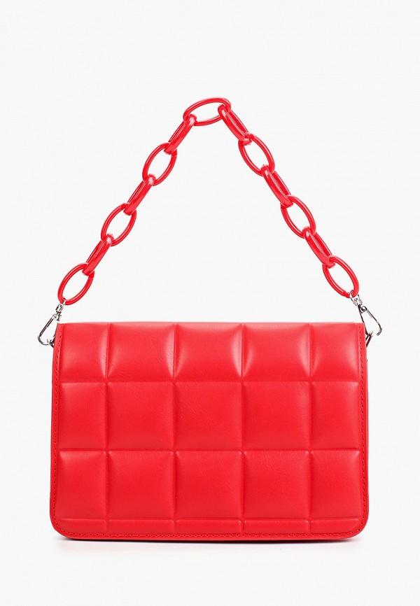 женская сумка с ручками dda, красная