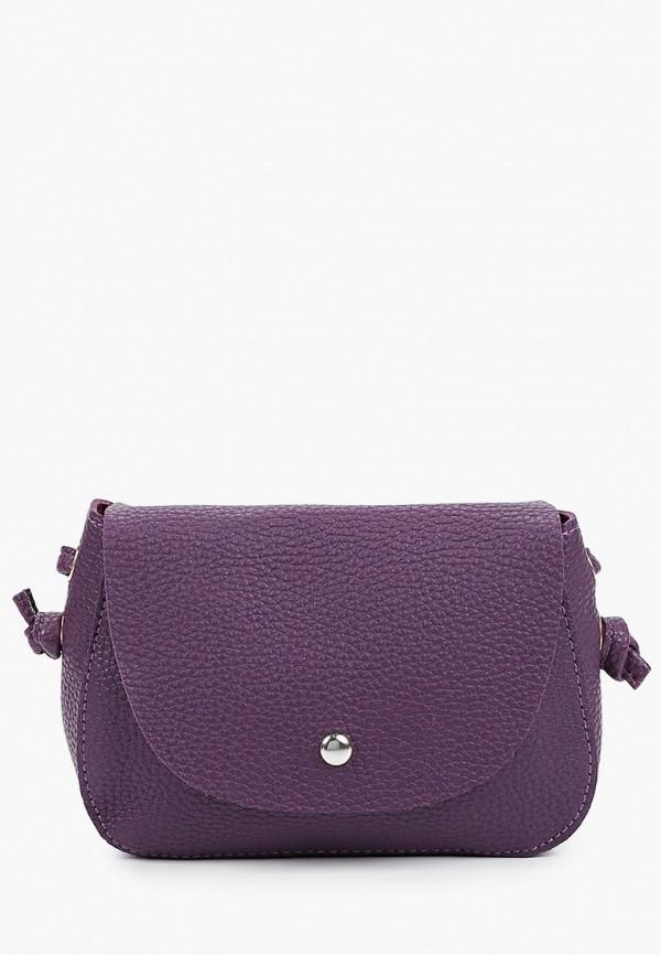 женская сумка через плечо dda, фиолетовая