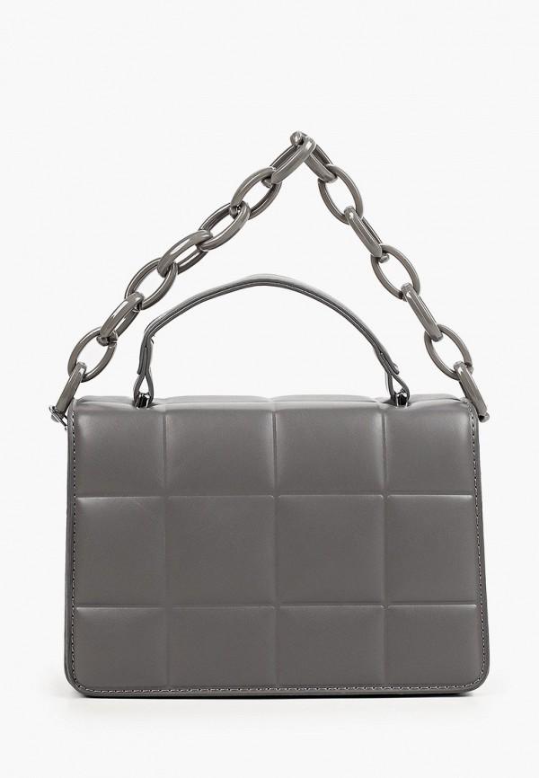 женская сумка через плечо dda, серая