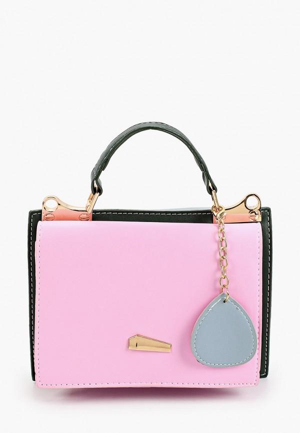 женская сумка с ручками dda, розовая