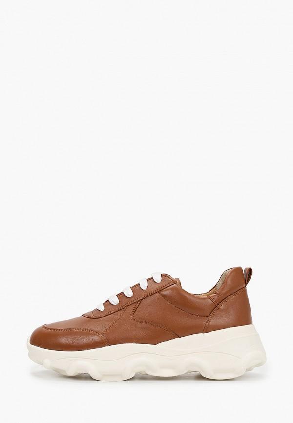 женские низкие кроссовки giotto, коричневые