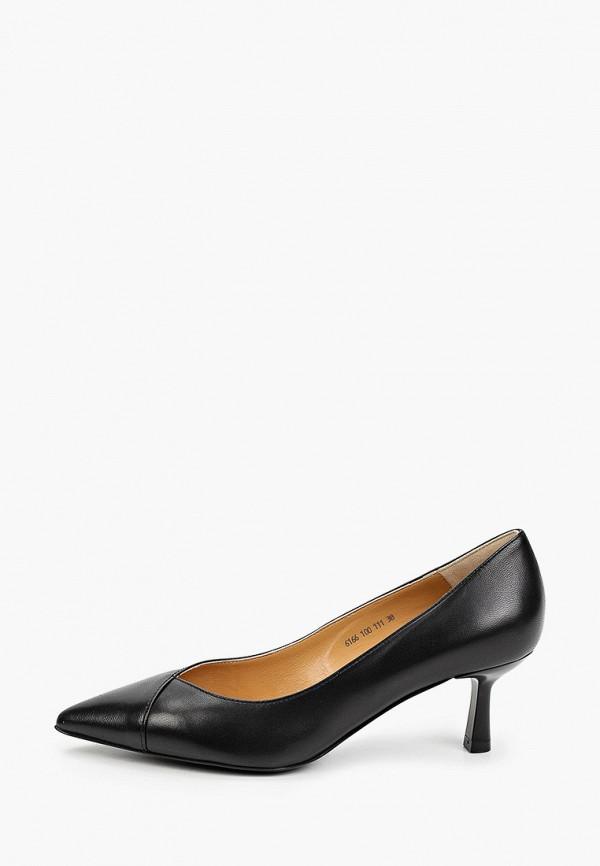 женские туфли-лодочки giotto, черные