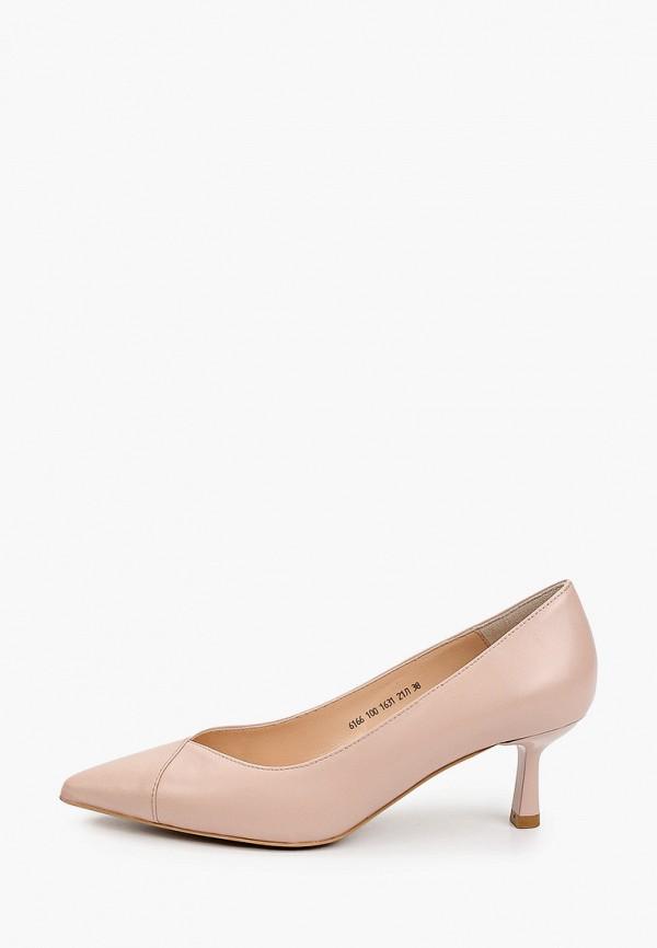 женские туфли-лодочки giotto, розовые