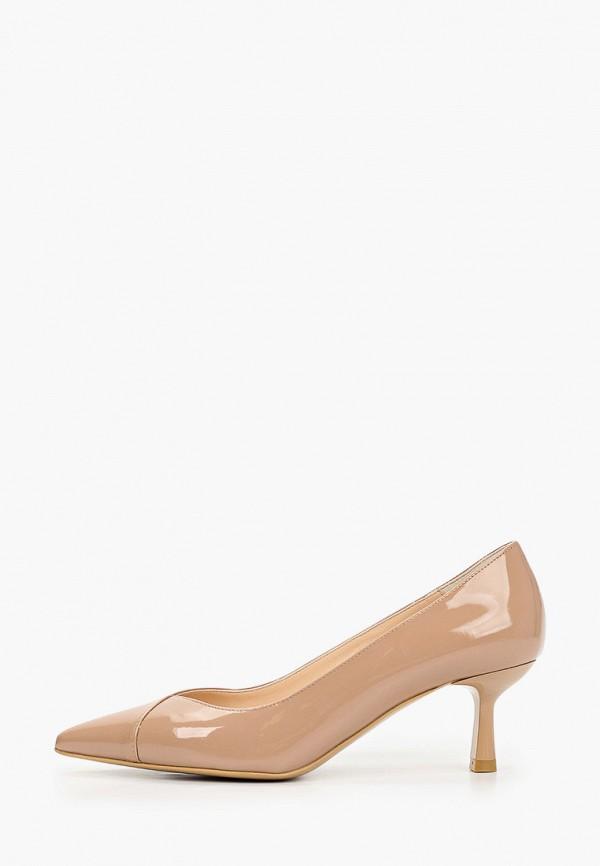 женские туфли-лодочки giotto, бежевые