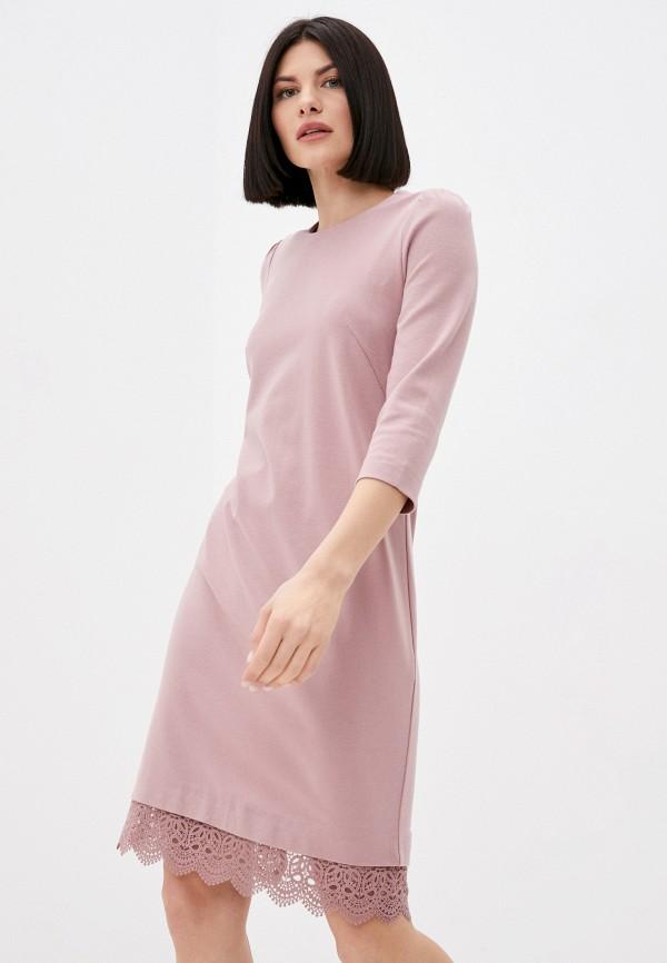 женское платье-футболки marlen, розовое