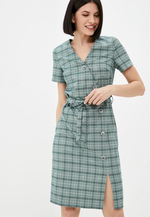 женское повседневные платье marlen, зеленое
