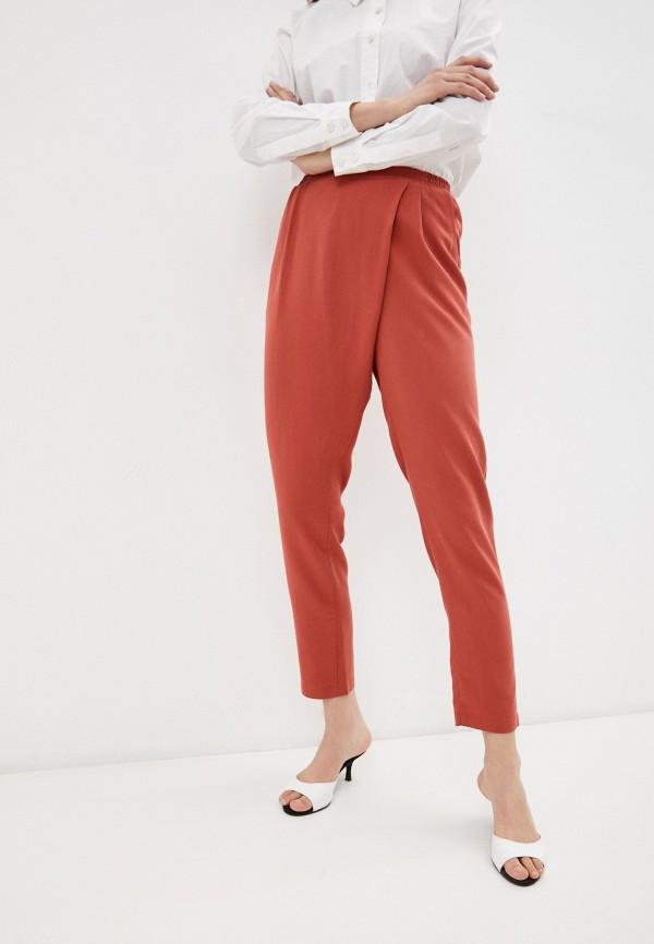 женские повседневные брюки marlen, красные