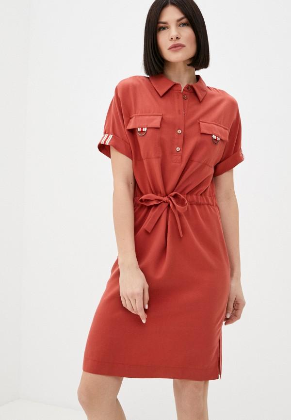 женское платье-рубашки marlen, оранжевое