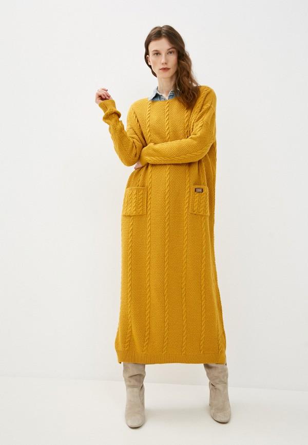 женское платье-свитеры jagga, желтое
