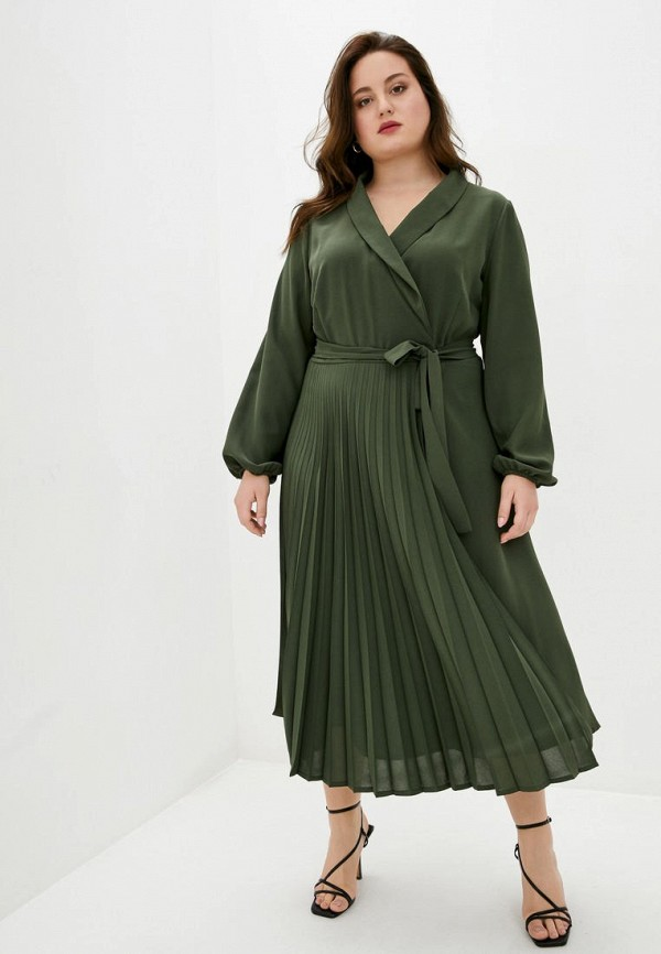 женское платье jhiva, зеленое