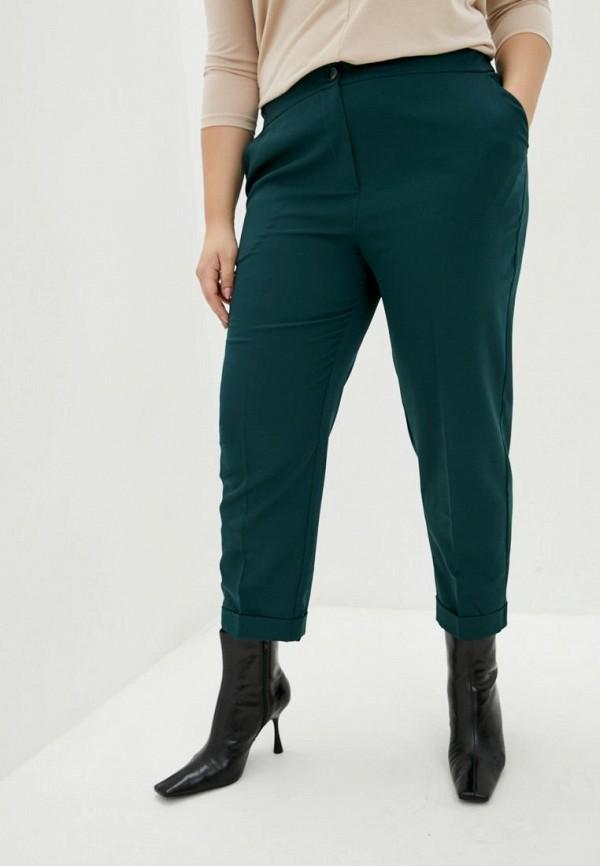 женские классические брюки jhiva, бирюзовые