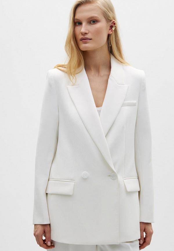 женский пиджак lime, белый
