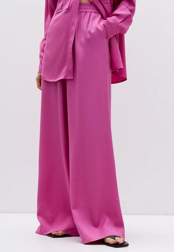 женские брюки джоггеры lime, розовые