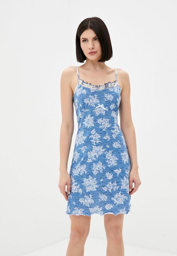 женские сорочка ночная miata, синие