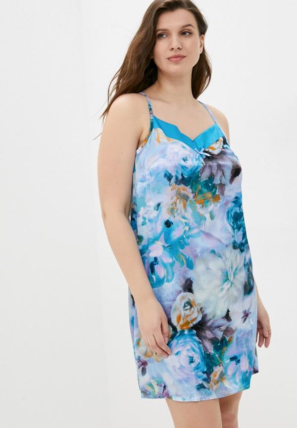 женские сорочка ночная miata, голубые