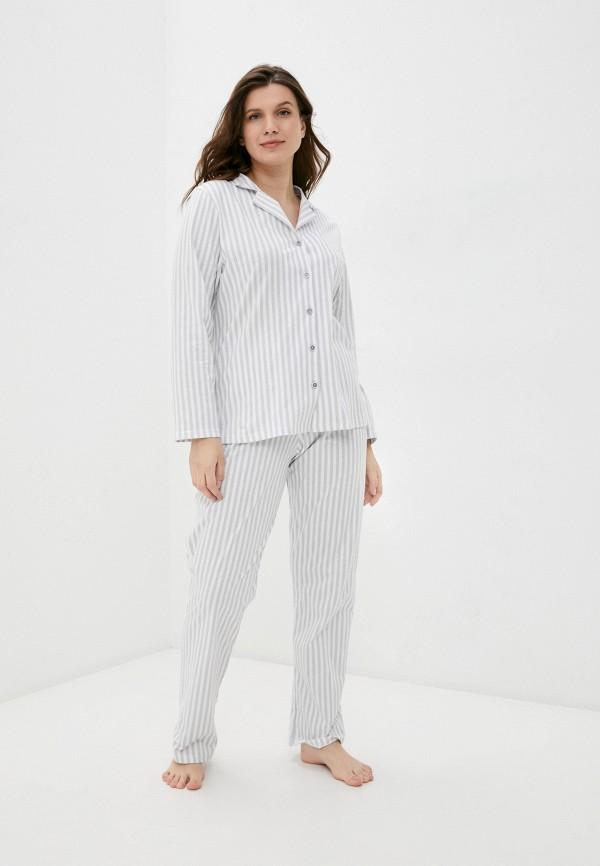 женская пижама miata, серая
