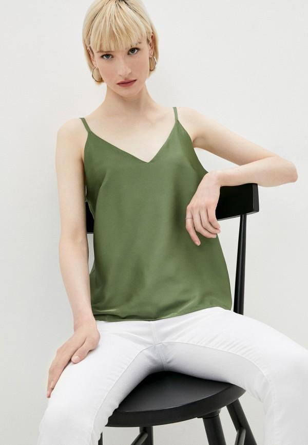 женский топ на бретелях galolbo, зеленый