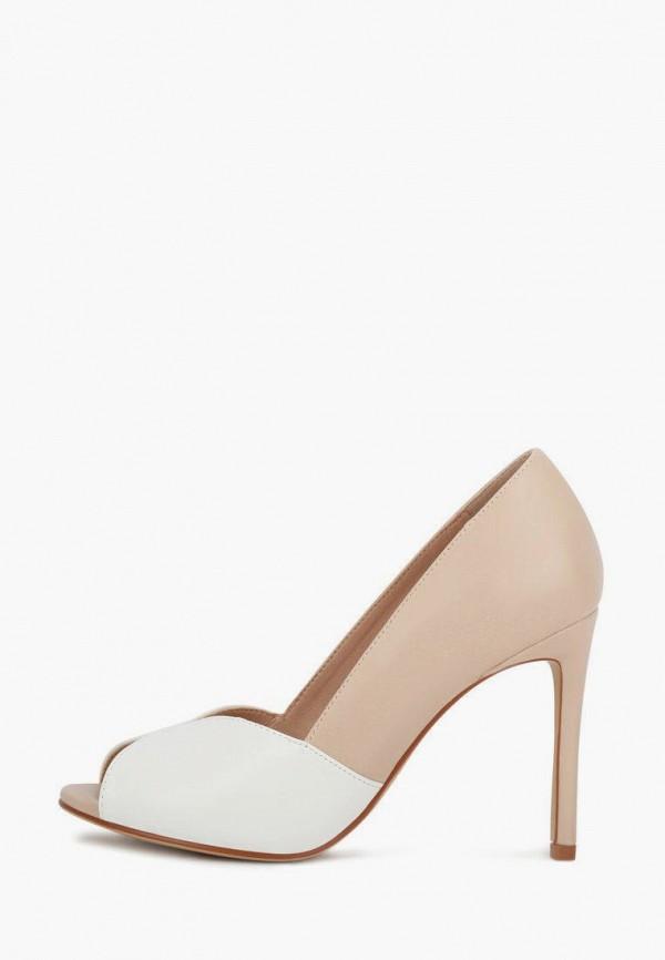 женские туфли с открытым носом t.taccardi, бежевые