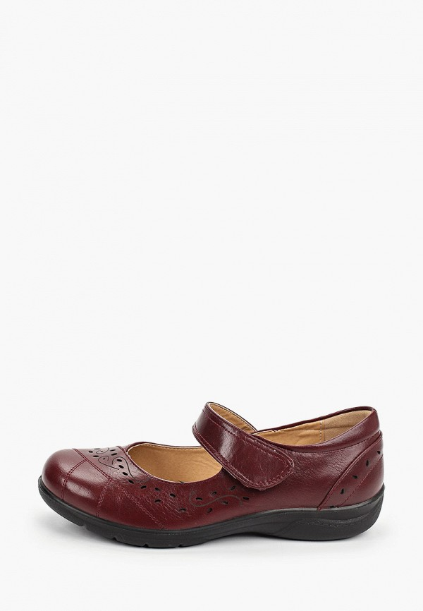 женские туфли instreet, бордовые
