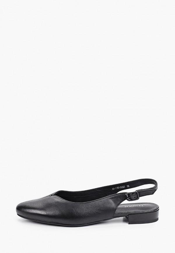 женские туфли zenden, черные